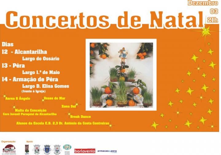 Concertos de Natal DarDeVaia
