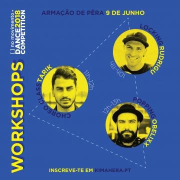 Workshops [ ] no movimento • Dance Competition 2018