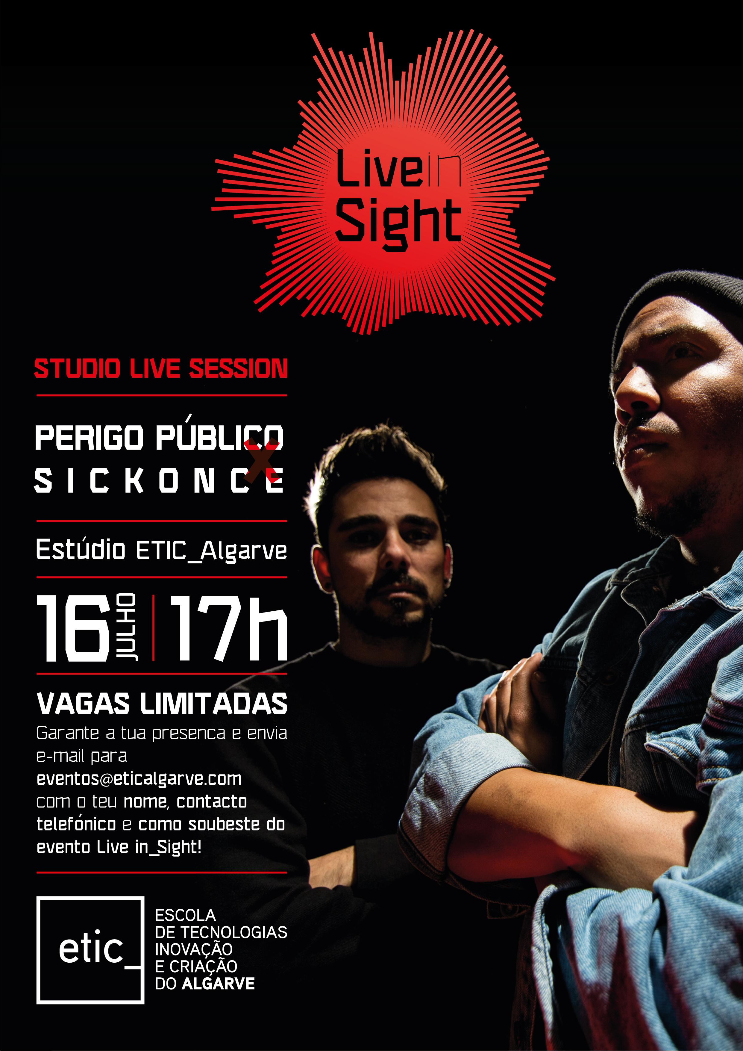 Perigo Público x Sickonce @ Estúdio ETIC_Algarve
