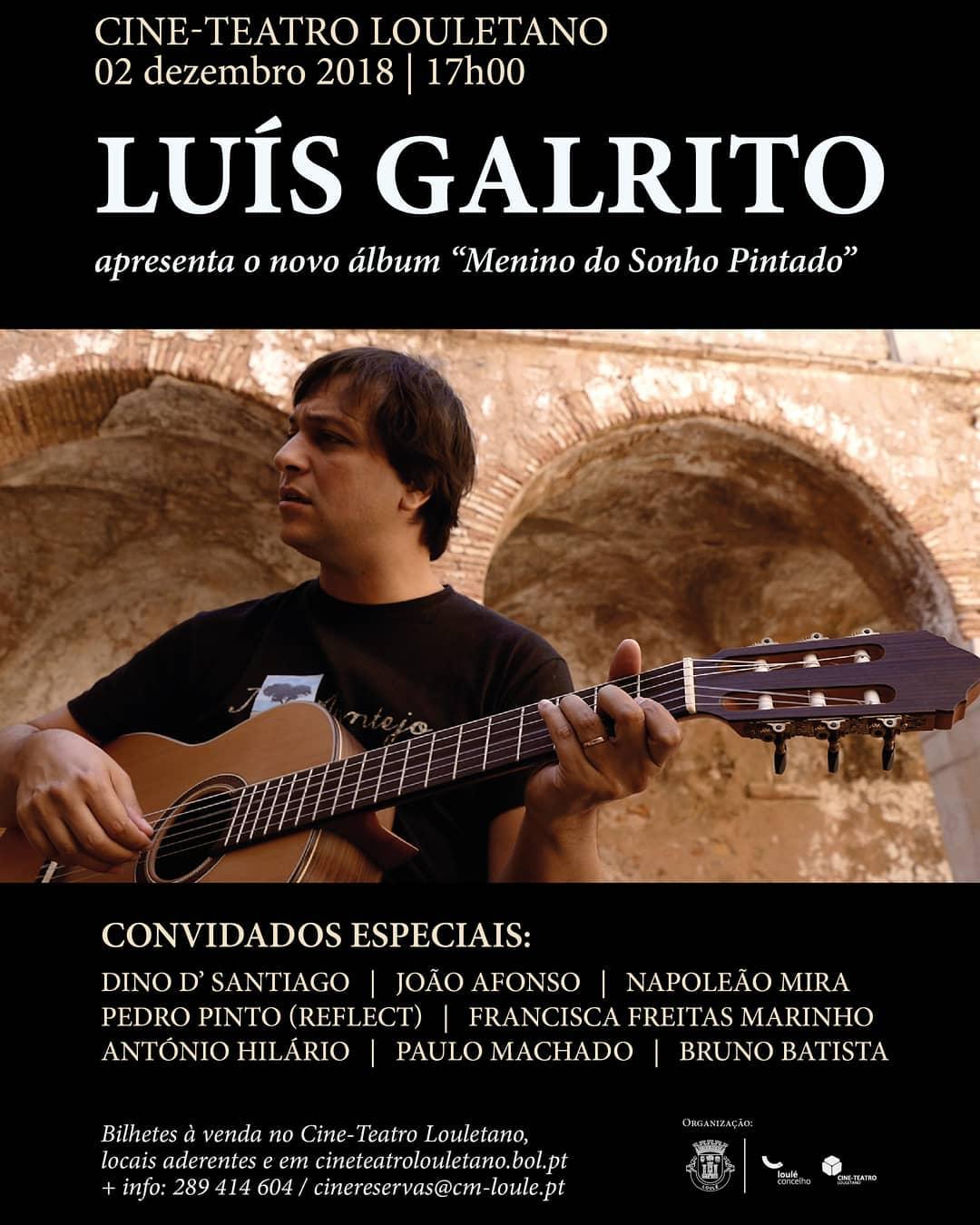 Luís Galrito | Menino do Sonho Pintado
