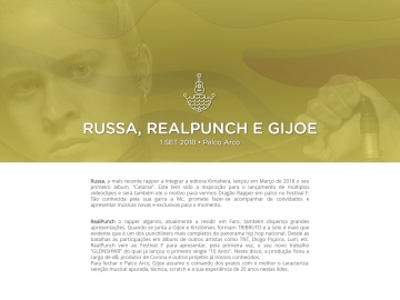 Russa, RealPunch e Gijoe @ Festival F (Palco Arco)