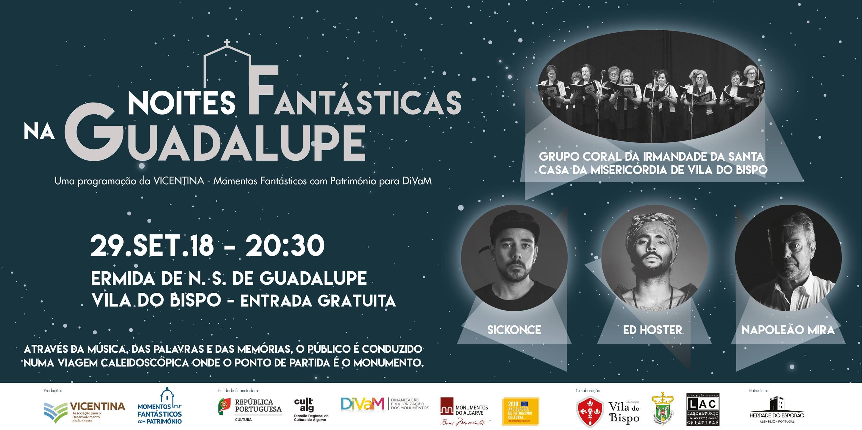 Sickonce + Ed Hoster + Napoleão Mira @ Noites Fantásticas na Guadalupe