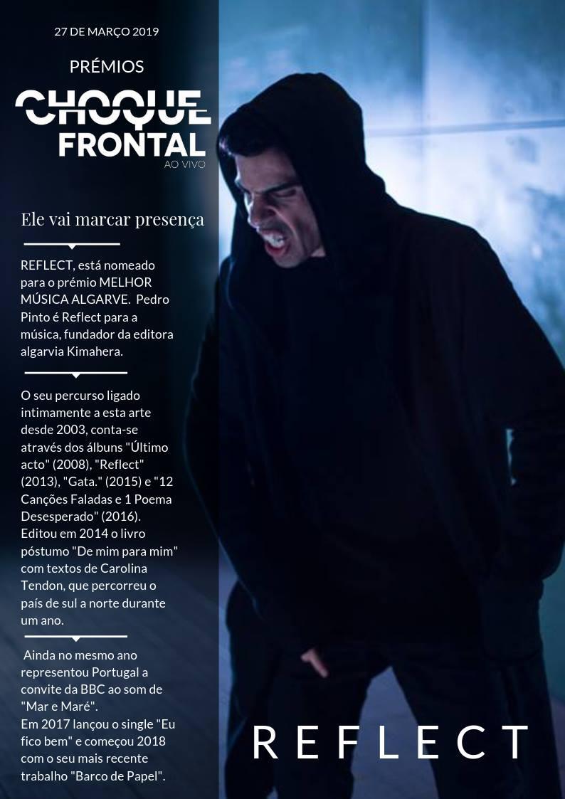 Reflect @ Prémios Choque Frontal - Alvor FM