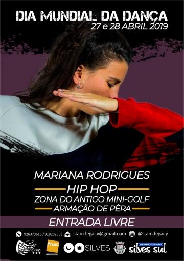Mariana Rodrigues @ Dia Mundial da Dança - Stam (Hip-Hop)