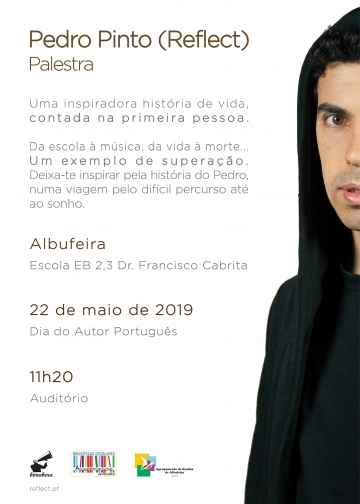Palestra com Pedro Pinto (Reflect) @ Albufeira