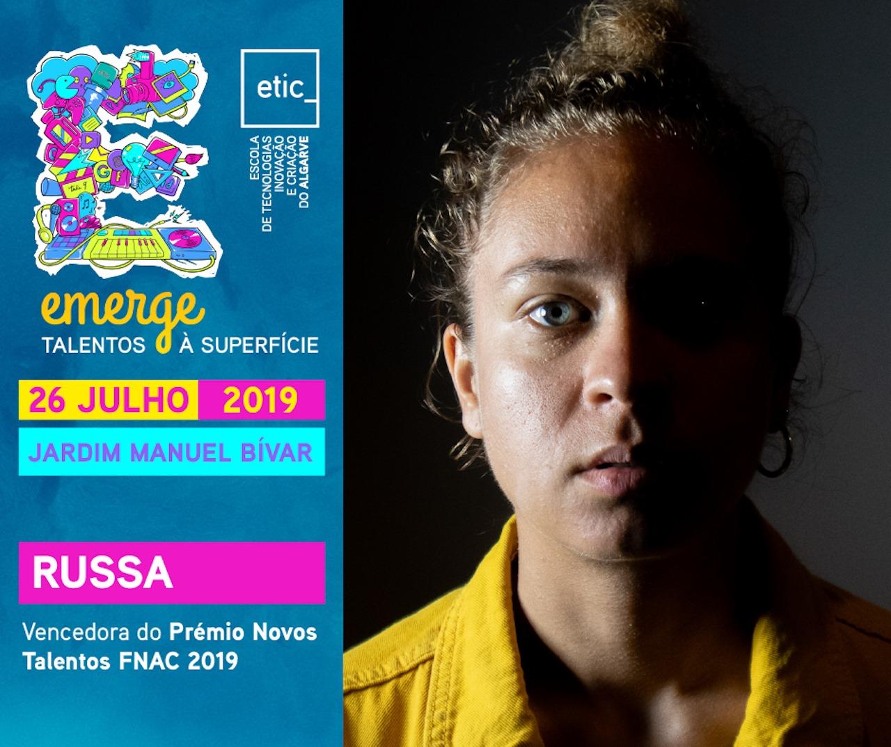 RUSSA @ Emerge Talentos à Superfície ETIC_Algarve (Faro)