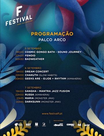 Russa @ Festival F (Palco Arco)