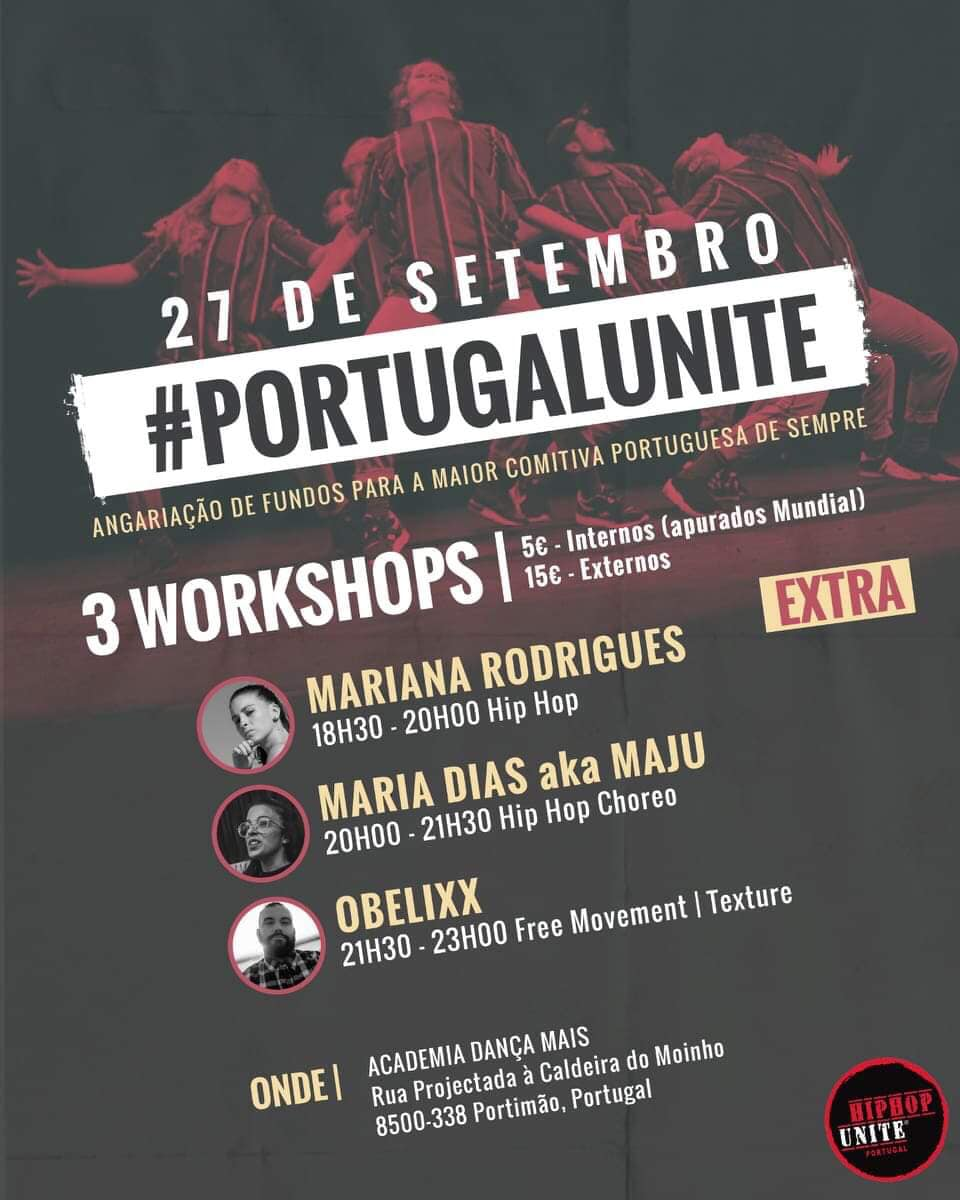 Mariana Rodrigues - Portugal Unite @ Dança Mais (Portimão)