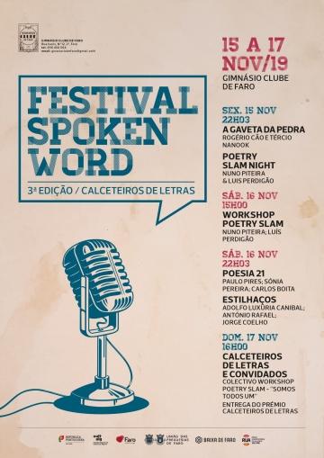 Reflect e Napoleão Mira @ Festival Spoken Word - Calceteiros de Letras