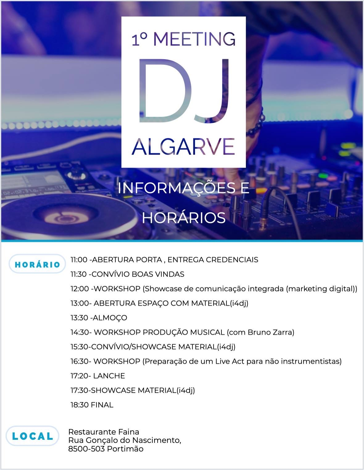 1.º Meeting DJ Algarve (Portimão)