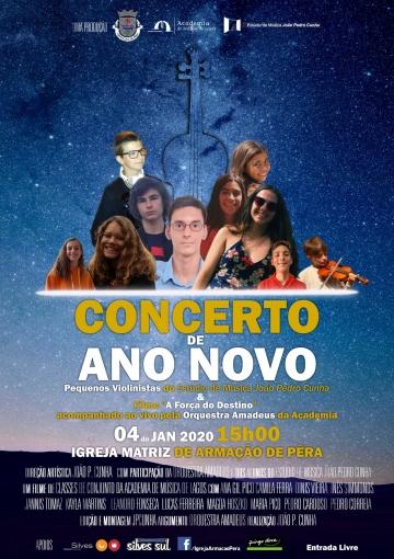 Reflect @ Concerto de Ano Novo (Armação de Pêra)