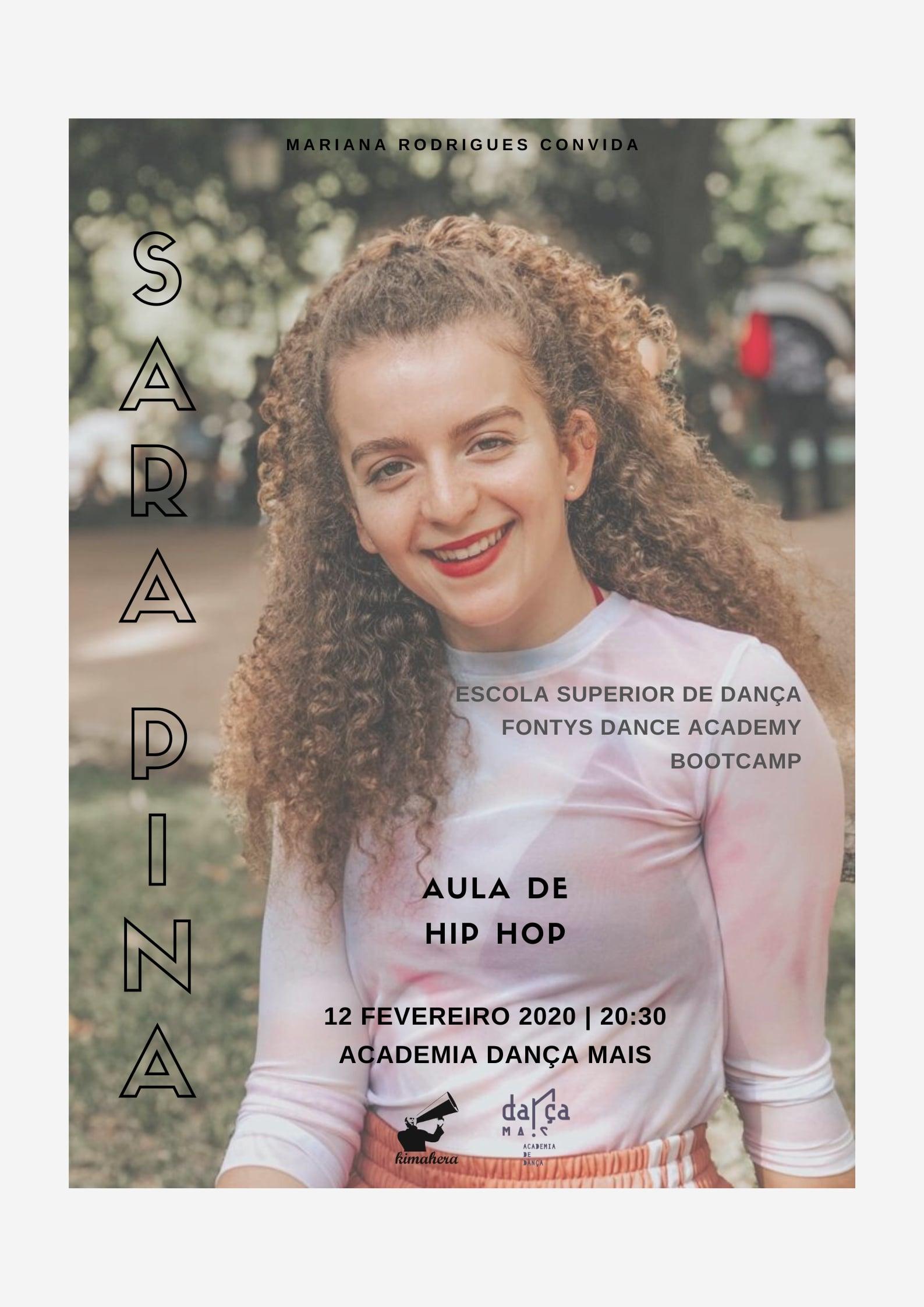 Aula de Hip Hop com Sara Pina @ Dança Mais