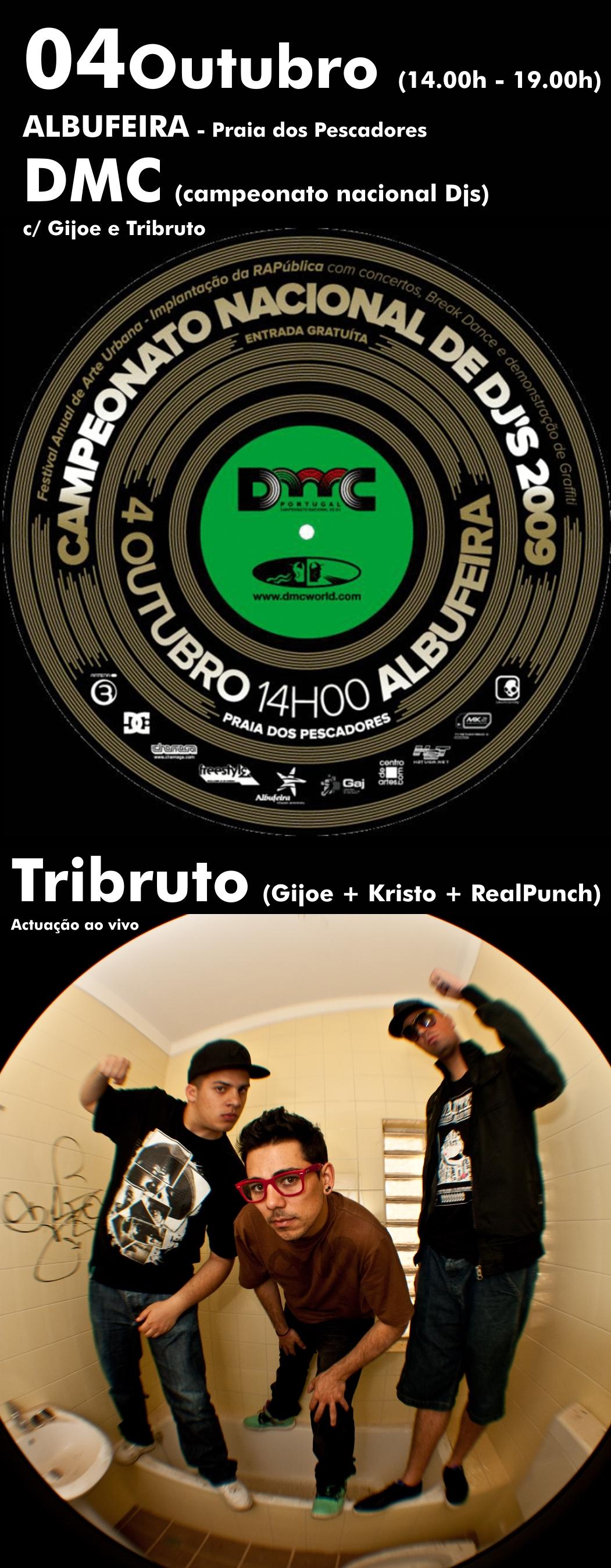 Tribruto no Campeonato Nacional de DJs