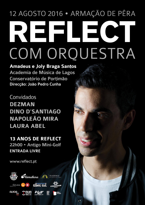 Reflect com Orquestra em Armação de Pêra