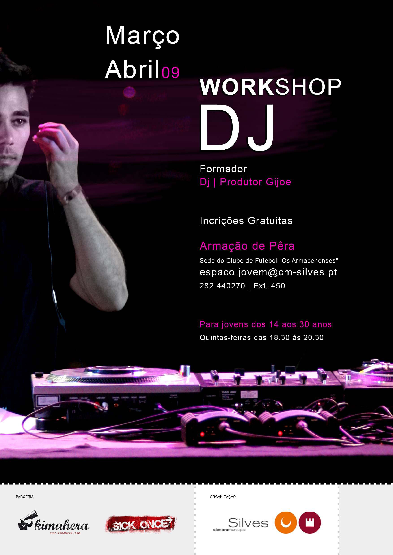 Workshop de DJ em Armação de Pêra
